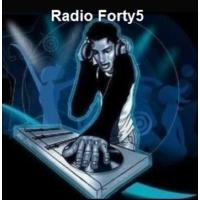 Logo of radio station Radio Forty5