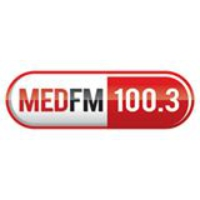 Logo of radio station MED FM 100.3