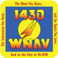 Logo of radio station WNAV 1430