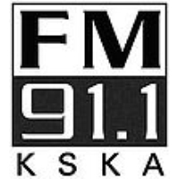 Logo of radio station KSKA