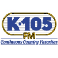 Logo of radio station WQXK K 105 Country