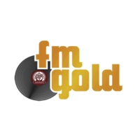 Logo of radio station FM Gold