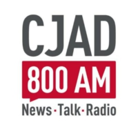 Logo of radio station CJAD 800