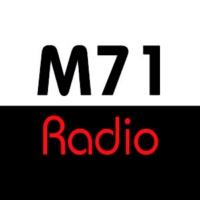 Logo of radio station M 71 radio