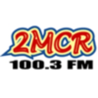 Logo of radio station 2MCR