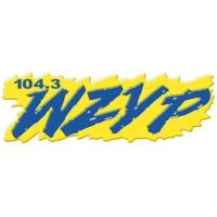 Logo of radio station 104.3 WZYP