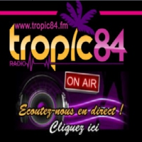 Logo of radio station TROPIC 84