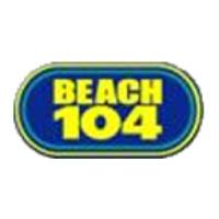 Logo de la radio WCXL Beach 104