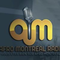 Logo of radio station AFRO MONTRÉAL RADIO