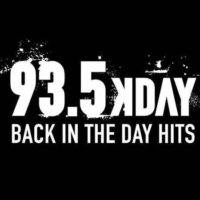 Logo of radio station 93.5 KDAY