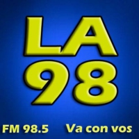 Logo of radio station La 98 Radio