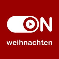 "Logo of radio station ""ON Weihnachten"""