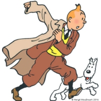 Logo of the podcast Feuilleton Tintin - Les Cigares du Pharaon