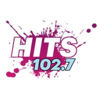 Logo de la radio KXMZ Hits 102.7