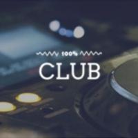 Logo of radio station 100FM - Club