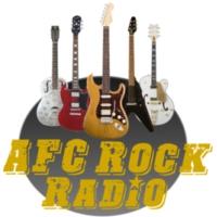 Logo of radio station AFC Rock Radio