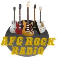 Logo of radio station AFC Rock Radio