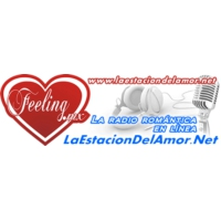 Logo of radio station La Estacion del Amor