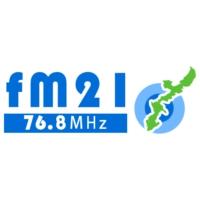 Logo of radio station FM21 76.8