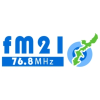 Logo of radio station FM21 76.8
