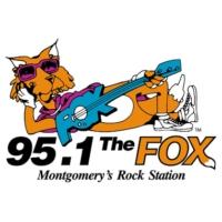 Logo de la radio WXFX The Fox