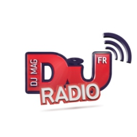 Logo of radio station DJ Mag Radio