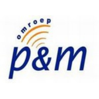 Logo of radio station Omroep P&M