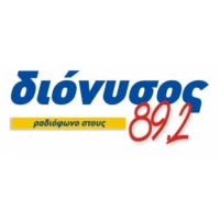 Logo of radio station Dionysos FM 89.2