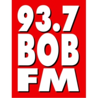Logo of radio station WNOB 93.7 BOB FM