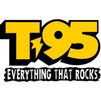 Logo of radio station KICT T95