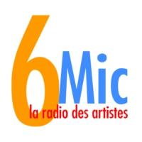 Logo of radio station 6Mic Radio