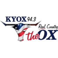 Logo of radio station KYOX The Ox 94.3