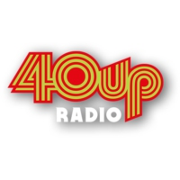 Logo of radio station 40UP Radio