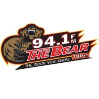Logo of radio station KJRB 94.1 The Bear