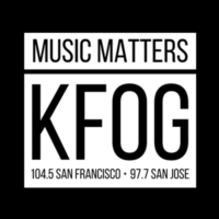 Logo of radio station KFOG
