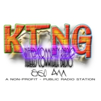Logo of radio station KTNG 860 AM