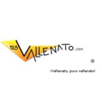 Logo of radio station 123Vallenato