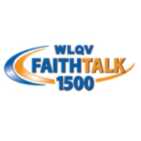 Logo of radio station WLQV Faith Talk 1500