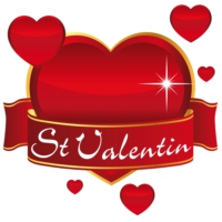 Logo of radio station radio st valentin