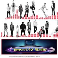 Logo of radio station impact42 radio v4