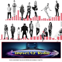 Logo of radio station impact42 radio v4