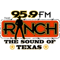 Logo of radio station KFWR 95.9 FM The Ranch