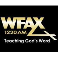 Logo of radio station WFAX