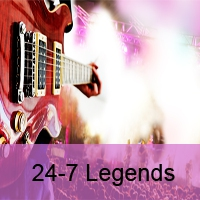 Logo of radio station 24-7 Legends