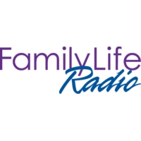 Logo of radio station KFLR Family Life Radio