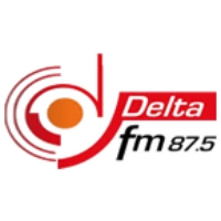 Logo of radio station Delta FM 87.5