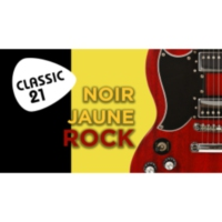 Logo of radio station Classic 21 - Noir Jaune Rock (RTBF)
