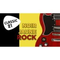 Logo de la radio Classic 21 - Noir Jaune Rock (RTBF)