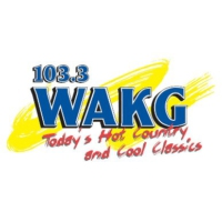 Logo of radio station WAKG 103.3