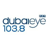 Logo de la radio Dubai Eye 103.8FM